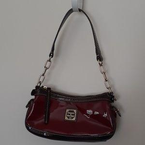 Dooney & Burke Patent Leather Shoulder Bag